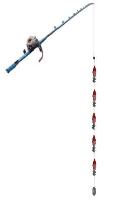 スルメイカ釣りの直結仕掛けと釣り方のコツ