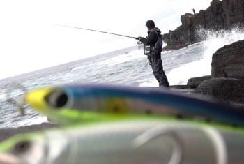 ロックショアヒラマサのタックルと釣り方